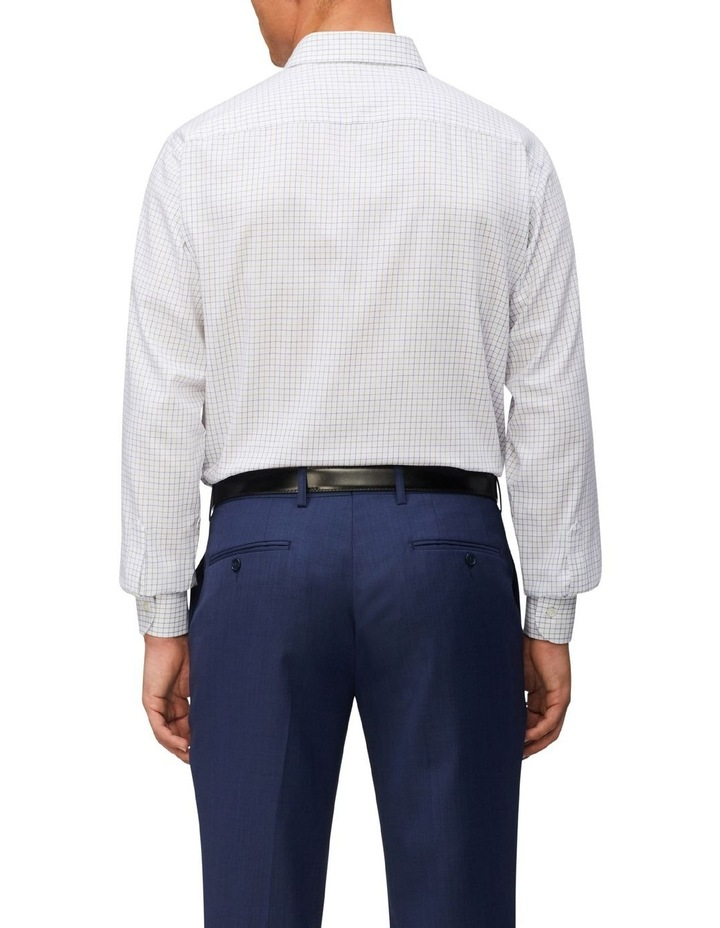 Tailored Long Sleeve 2 Colour Check Shirt image 2