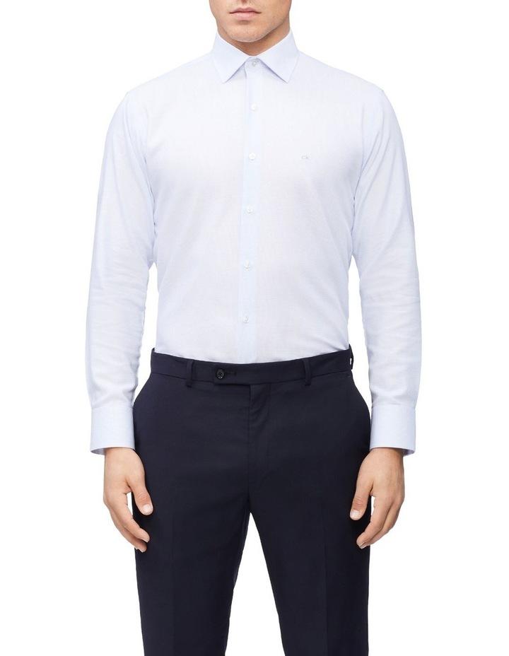 Slim Long Sleeve Dobby Houndstooth Shirt image 1