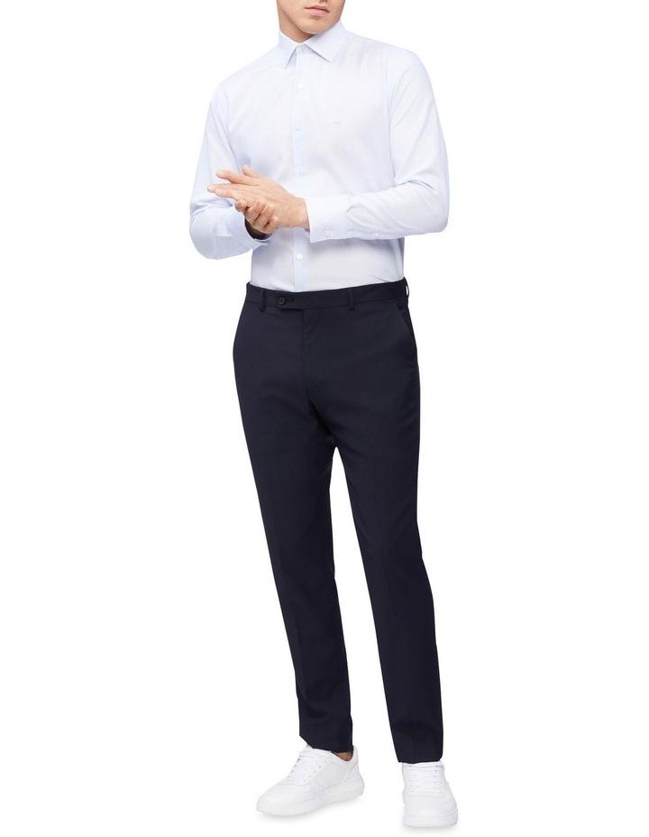 Slim Long Sleeve Dobby Houndstooth Shirt image 3