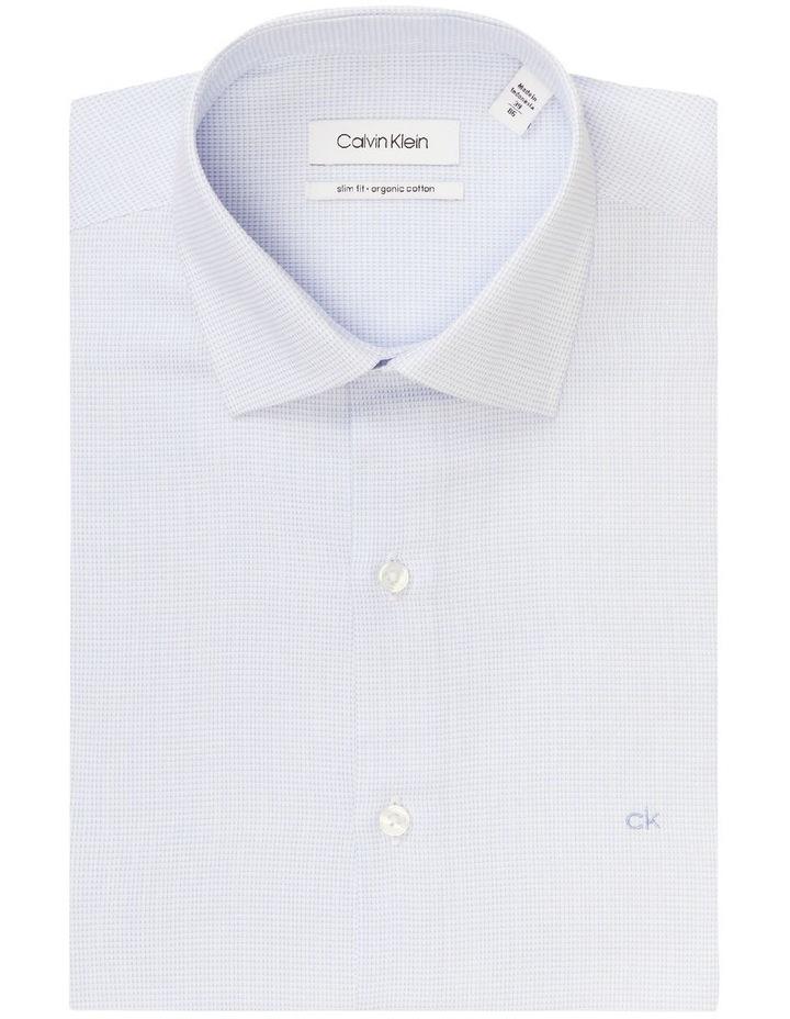 Slim Long Sleeve Dobby Houndstooth Shirt image 4