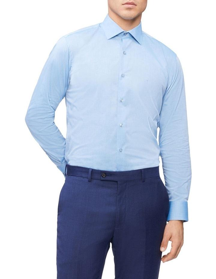 Slim Long Sleeve Pinpoint Shirt image 1