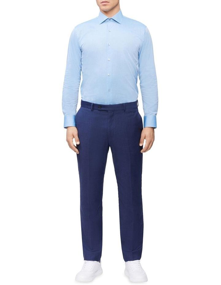 Slim Long Sleeve Pinpoint Shirt image 2