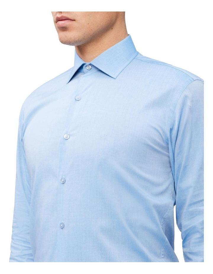 Slim Long Sleeve Pinpoint Shirt image 3