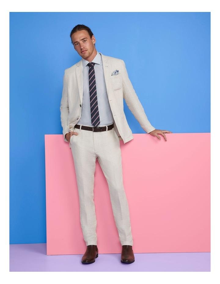Slim Long Sleeve Twill Shirt Blue image 2