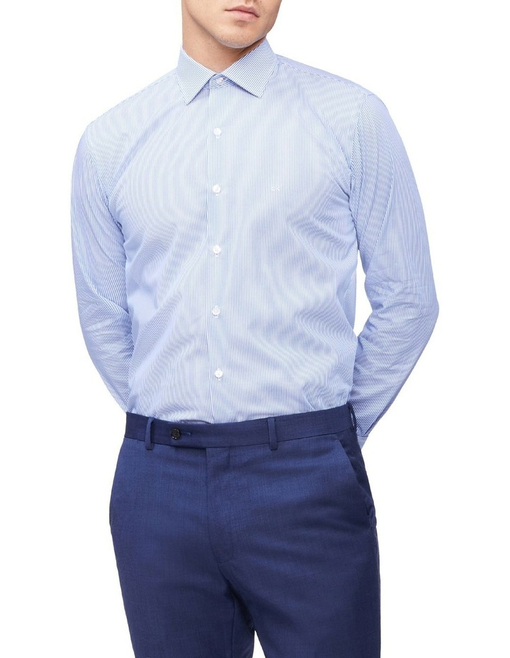 Slim Long Sleeve Pinstripe Shirt image 1