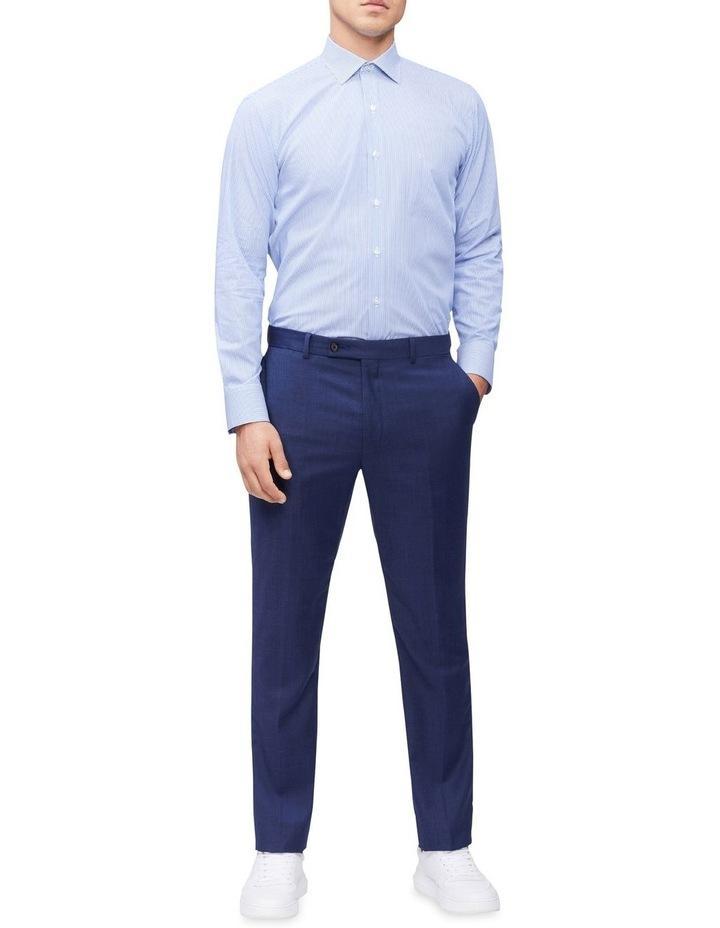 Slim Long Sleeve Pinstripe Shirt image 3