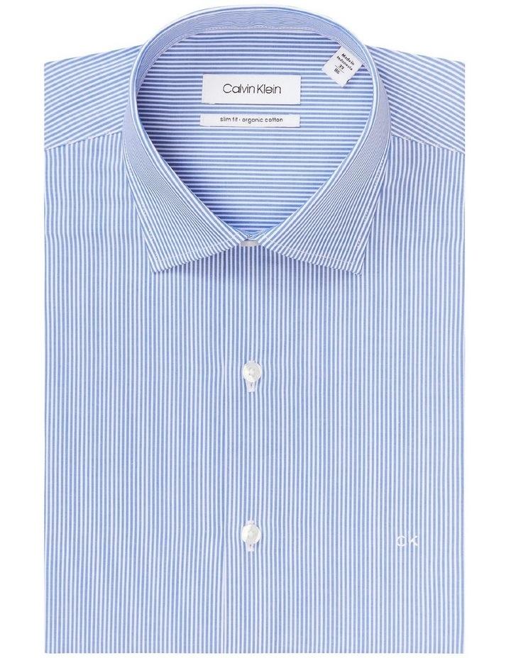 Slim Long Sleeve Pinstripe Shirt image 4