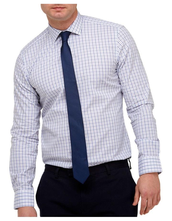 Intricate Check Reg Fit Business Shirt image 1