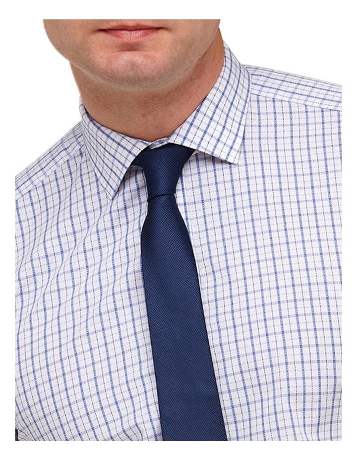 Intricate Check Reg Fit Business Shirt image 2