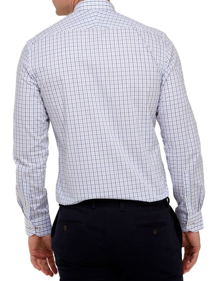 Intricate Check Reg Fit Business Shirt image 3