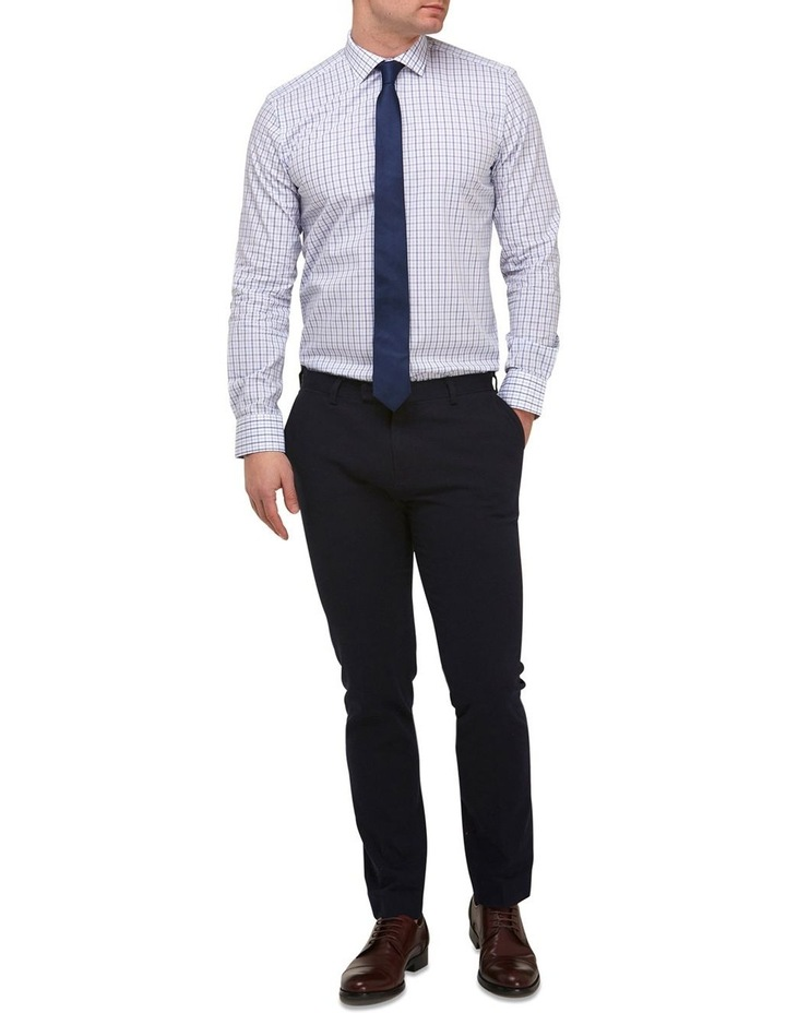 Intricate Check Reg Fit Business Shirt image 4