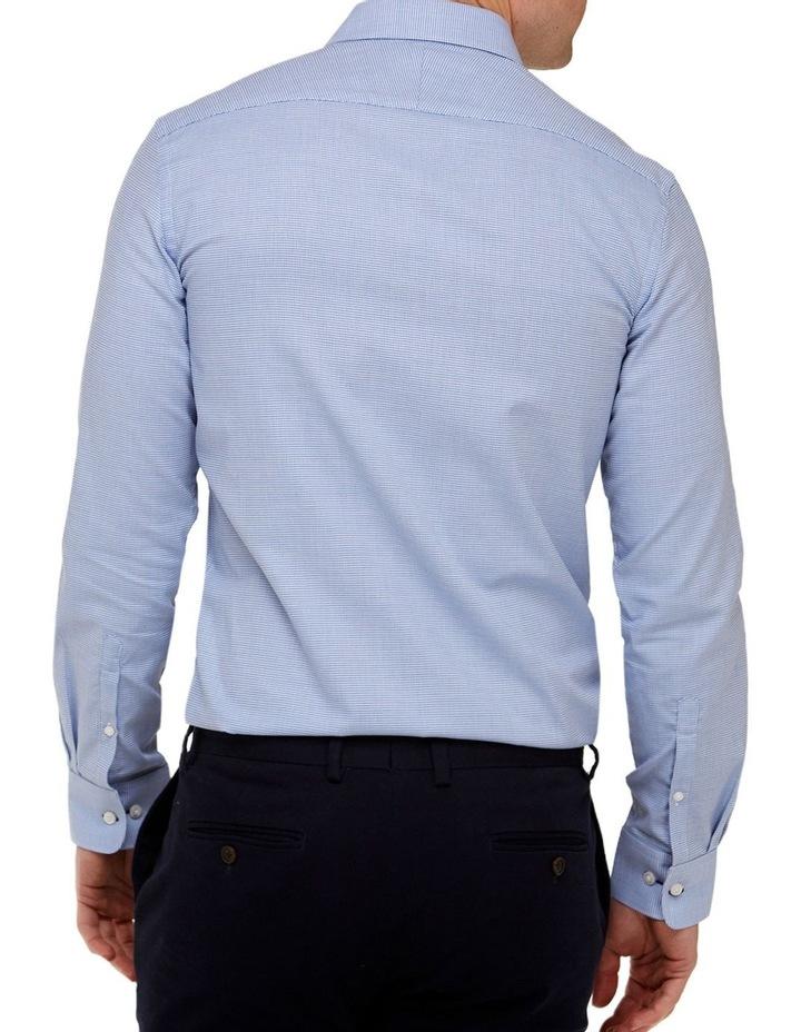 Micro Textured Reg Fit Business Shirt image 3