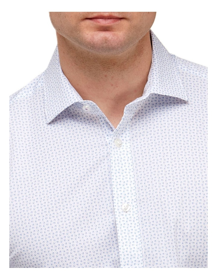 Abstract Floral Print Reg Fit Business Shirt image 2