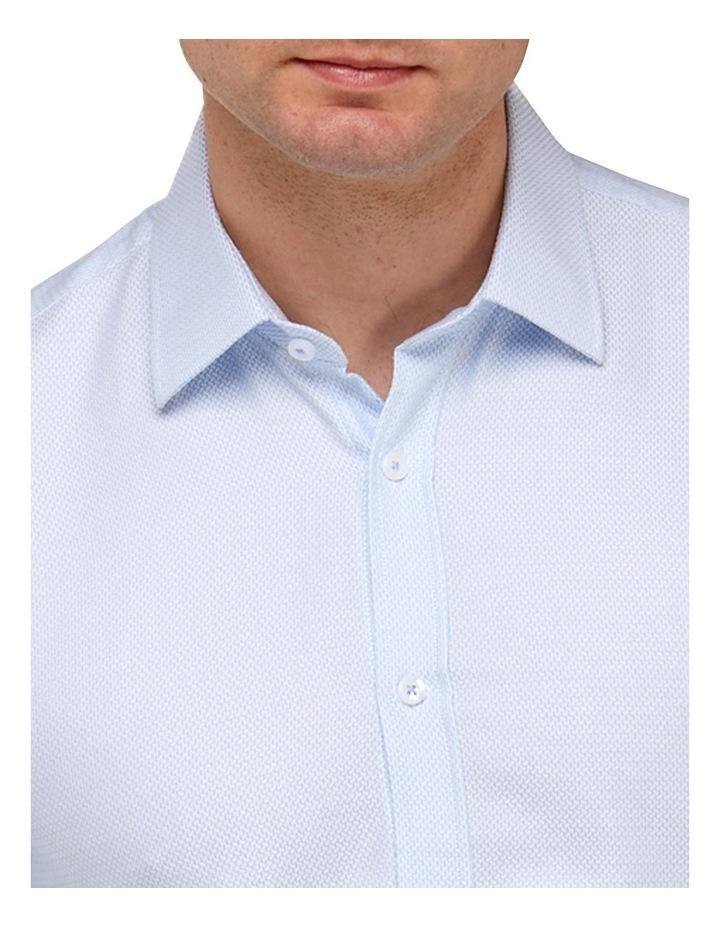Micro Textured  Slim Fit Dress Shirt image 2