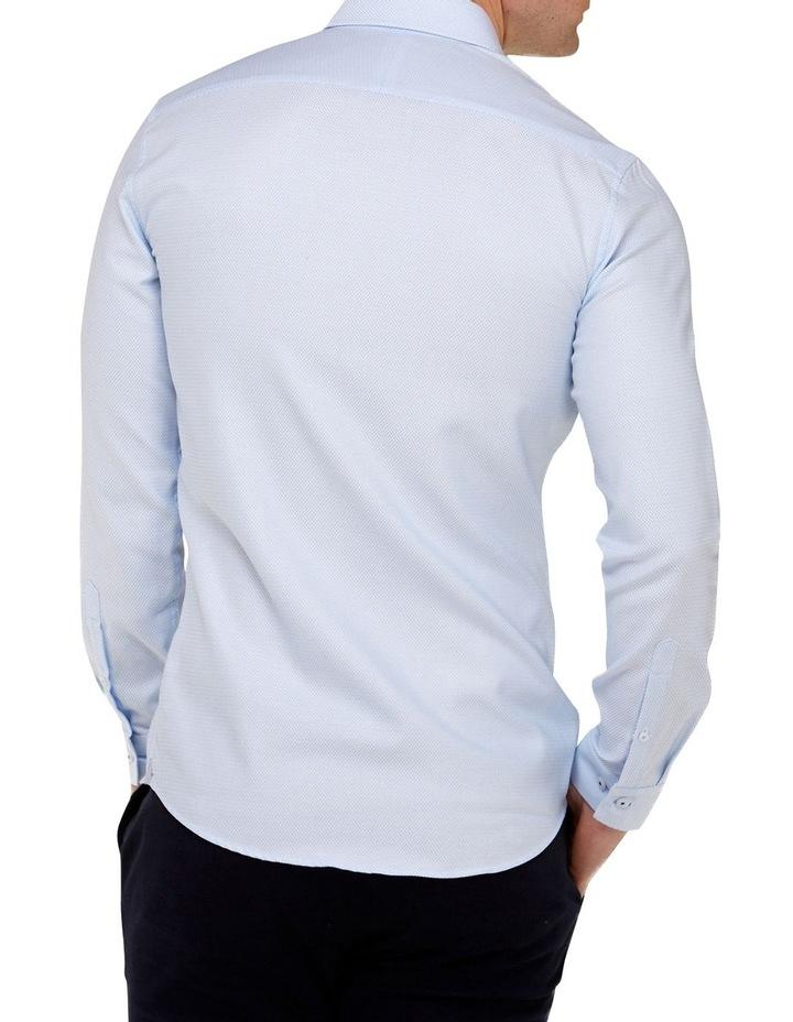 Micro Textured  Slim Fit Dress Shirt image 3