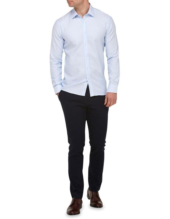 Micro Textured  Slim Fit Dress Shirt image 4