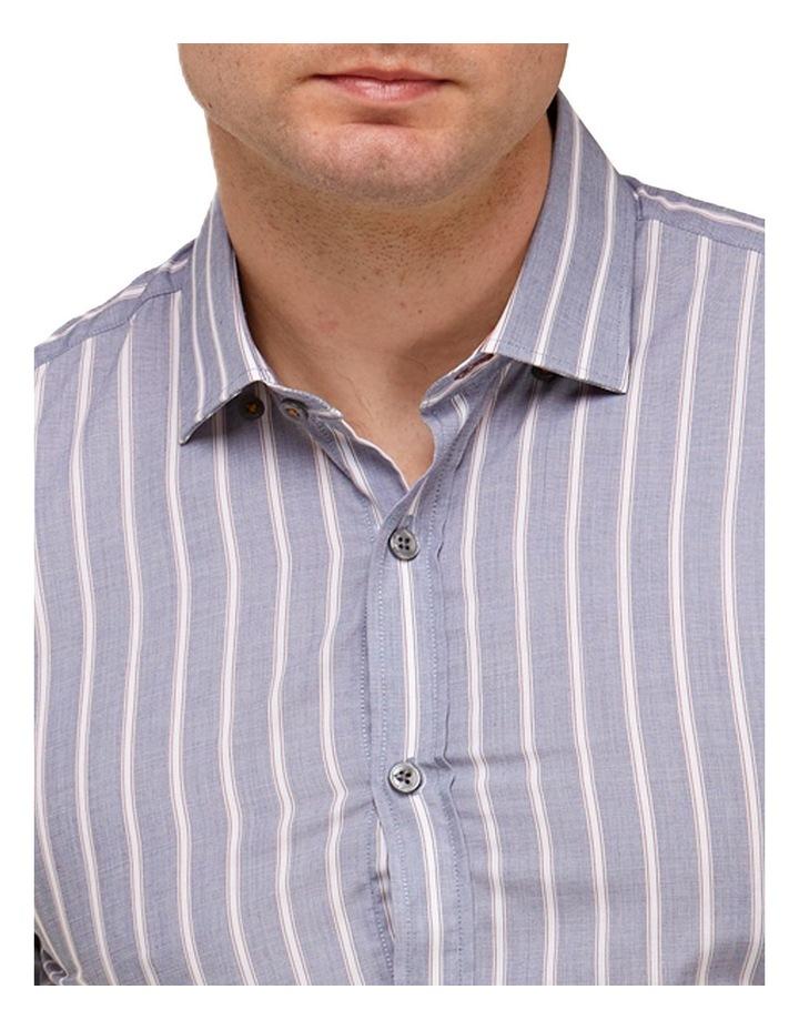 Vertical Stripe Slim Fit Dress Shirt image 2