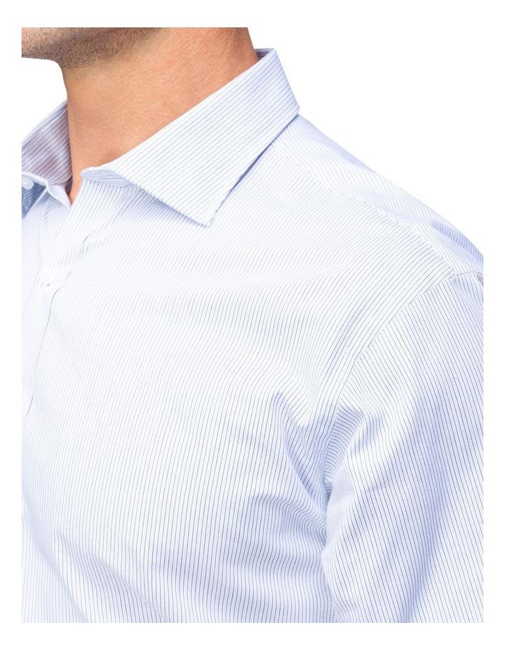 Blue Check Short Sleeve Business Shirt image 4