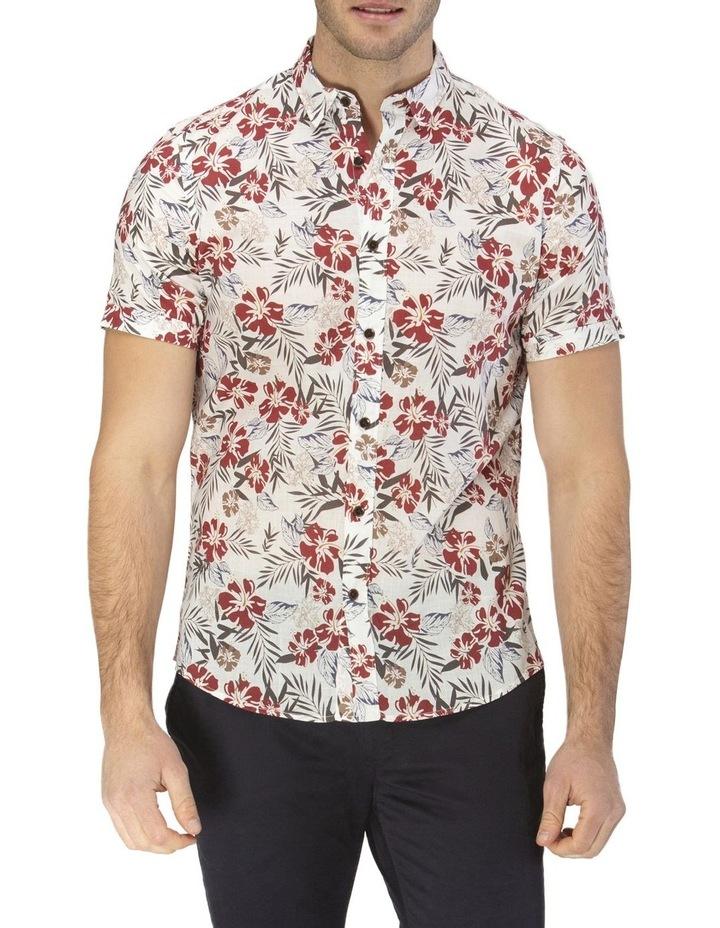 Hawaiian Print Casual Short Sleeve Shirt image 1