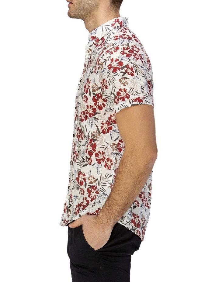 Hawaiian Print Casual Short Sleeve Shirt image 2