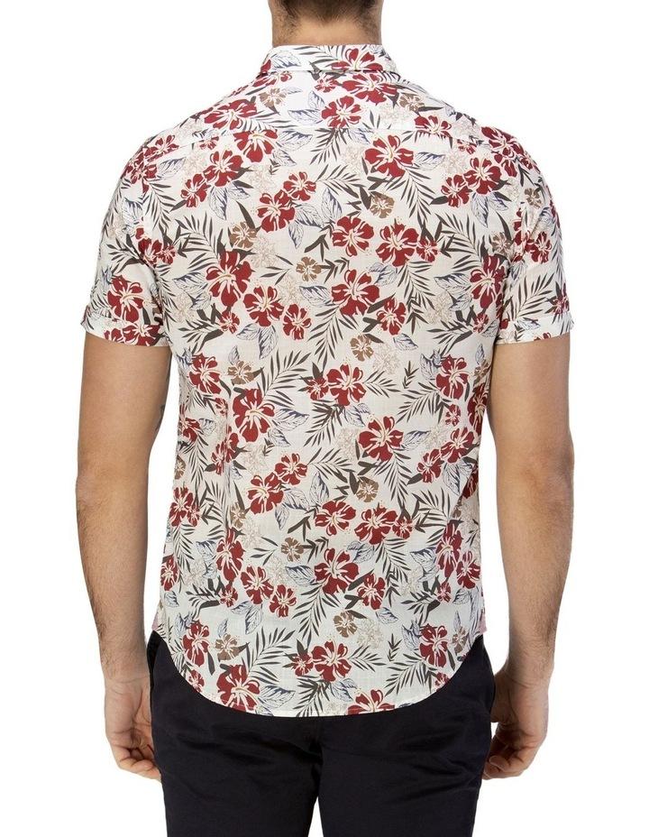 Hawaiian Print Casual Short Sleeve Shirt image 3