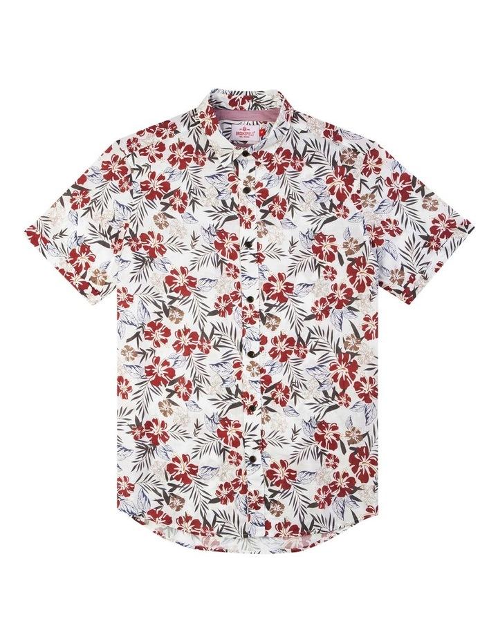 Hawaiian Print Casual Short Sleeve Shirt image 4