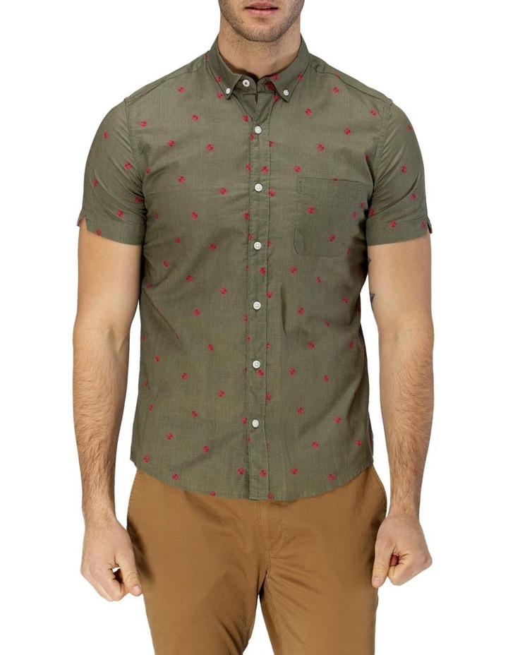 Thong Print Short Sleeve Casual Shirt image 1