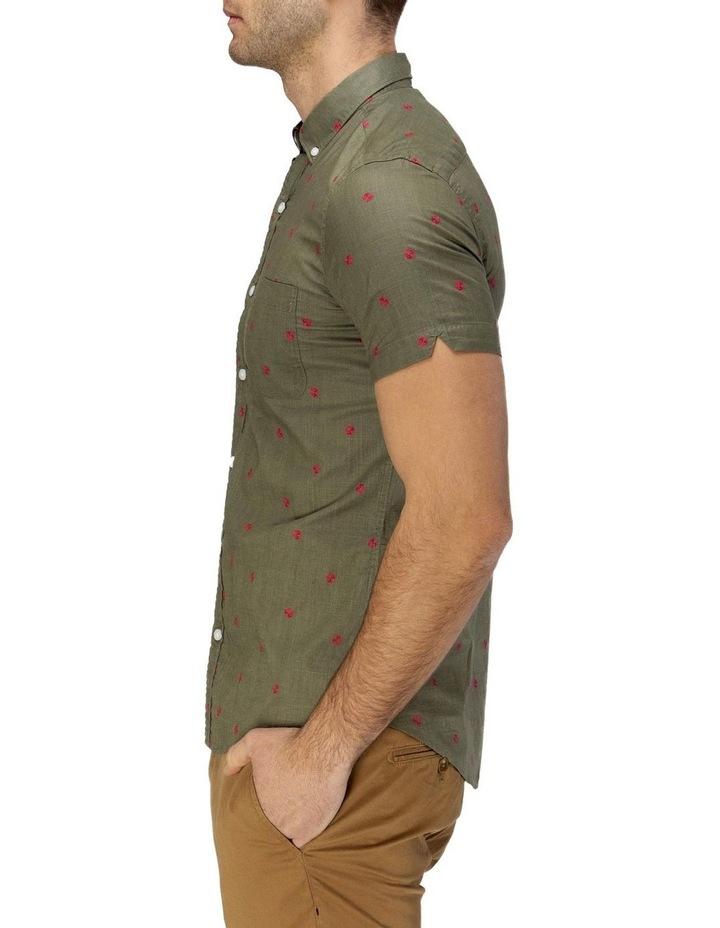 Thong Print Short Sleeve Casual Shirt image 2