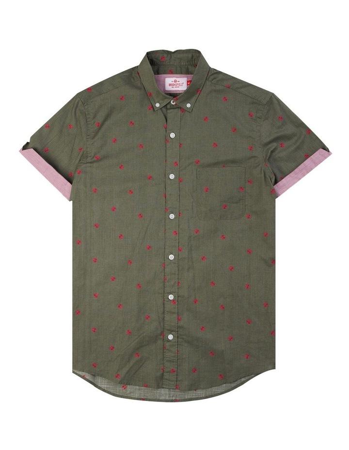 Thong Print Short Sleeve Casual Shirt image 4
