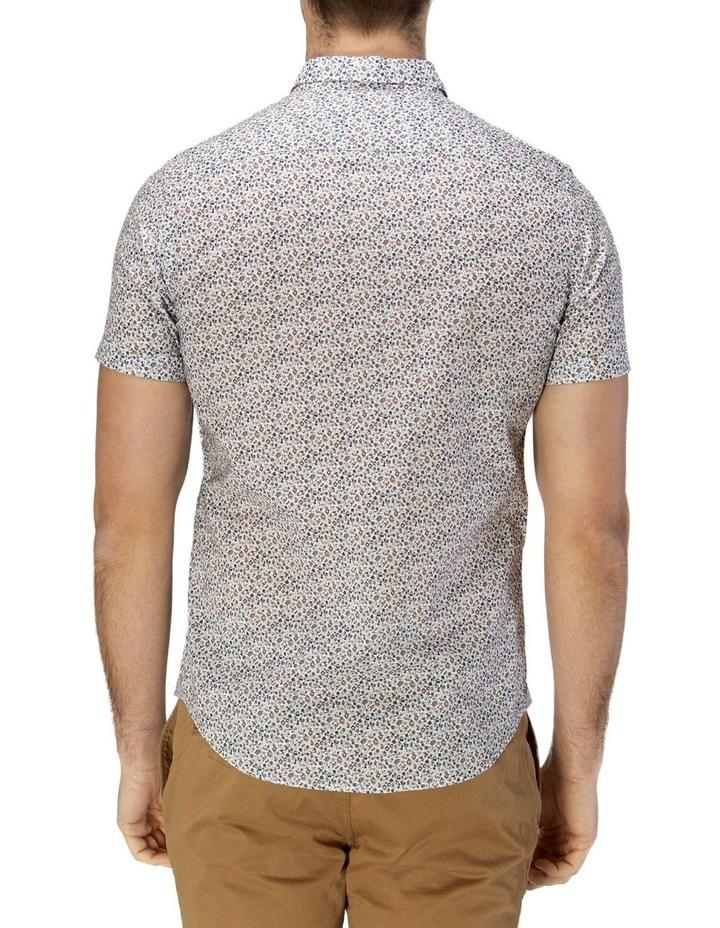 Vintage Floral Print Short Sleeve Casual Shirt image 3