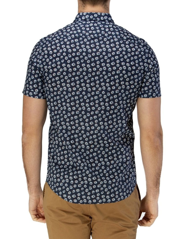 Daisy Print Casual Short Sleeve Shirt image 3
