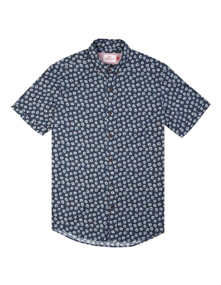 Daisy Print Casual Short Sleeve Shirt image 4