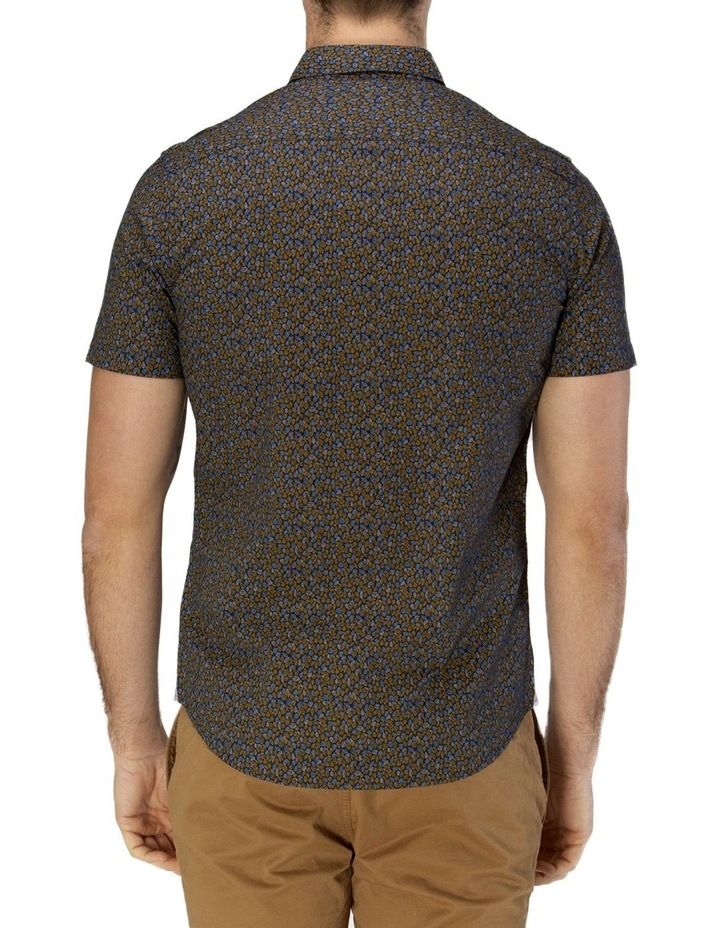 Leaf Print Short Sleeve Casual Shirt image 3
