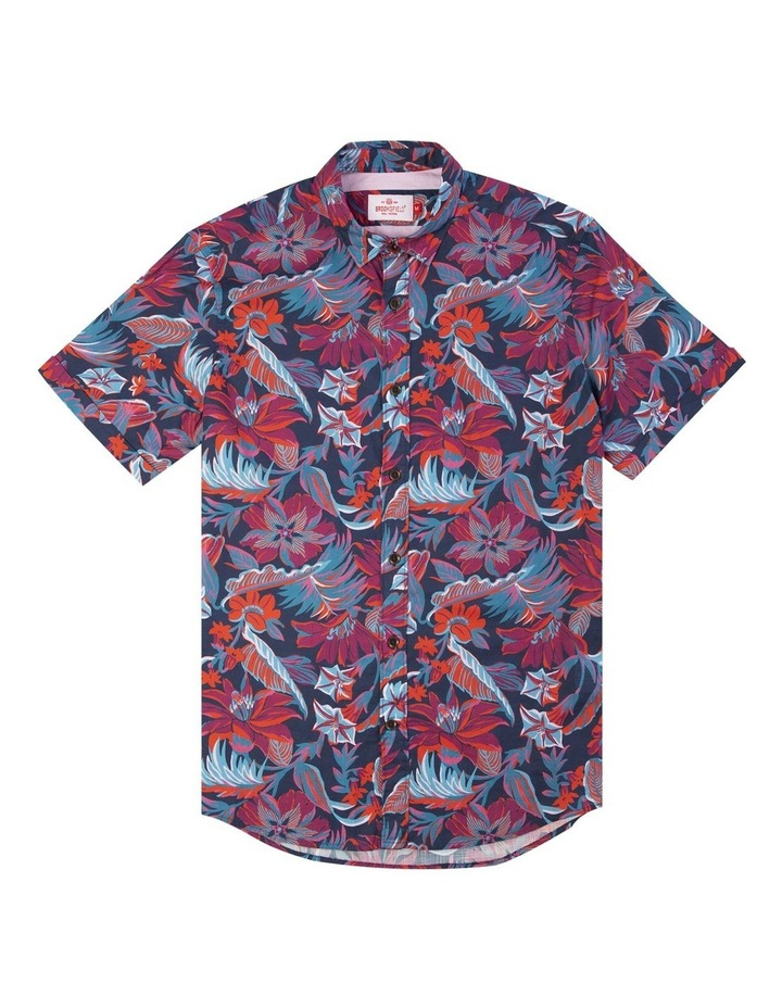 Hawaiian Print Short Sleeve Casual Shirt image 4