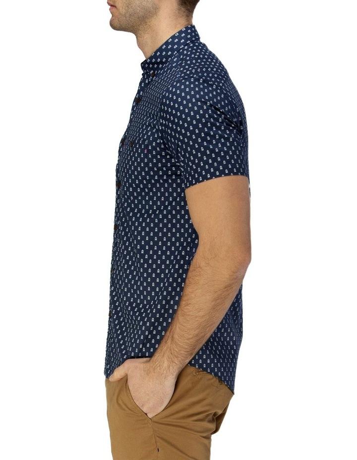 Train Print Short Sleeve Casual Shirt image 2