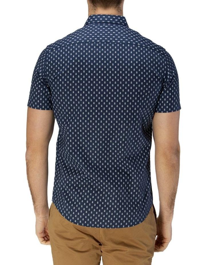 Train Print Short Sleeve Casual Shirt image 3