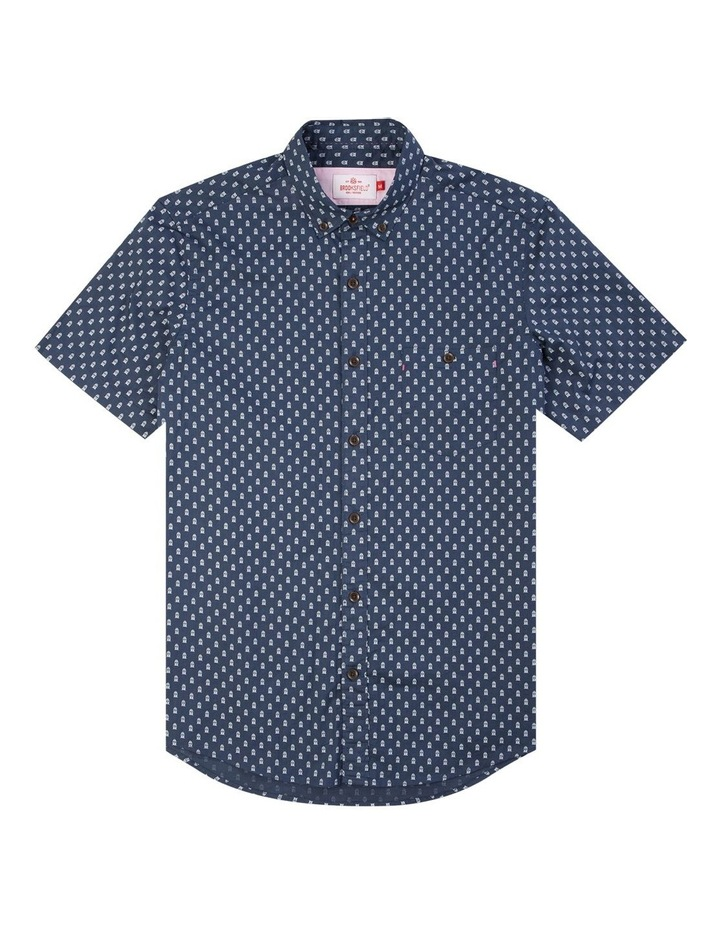Train Print Short Sleeve Casual Shirt image 4