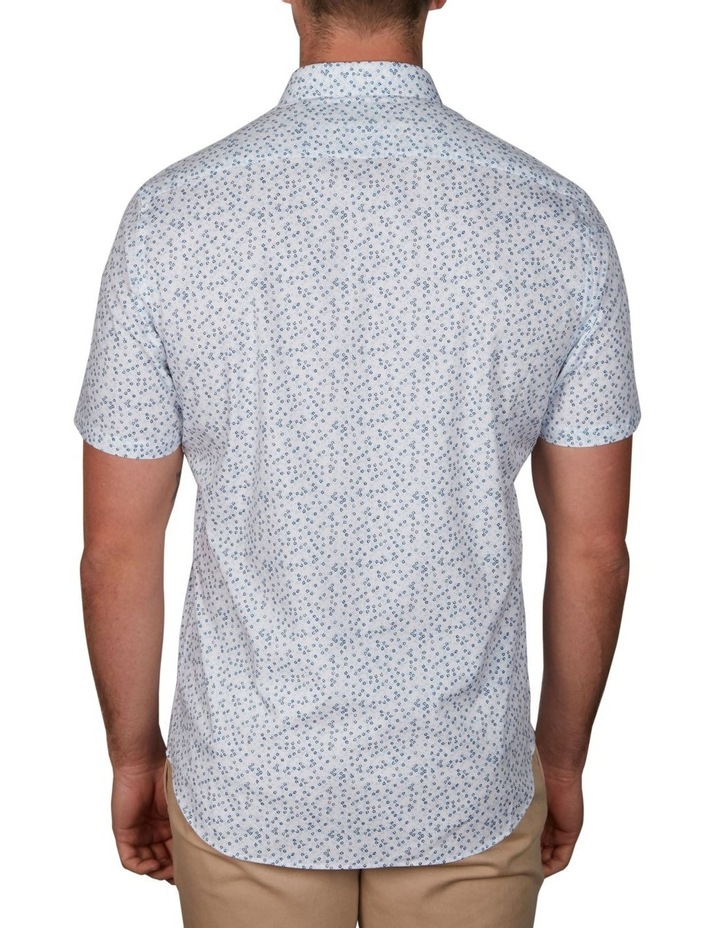 Floral Short Sleeve Business Shirt image 2