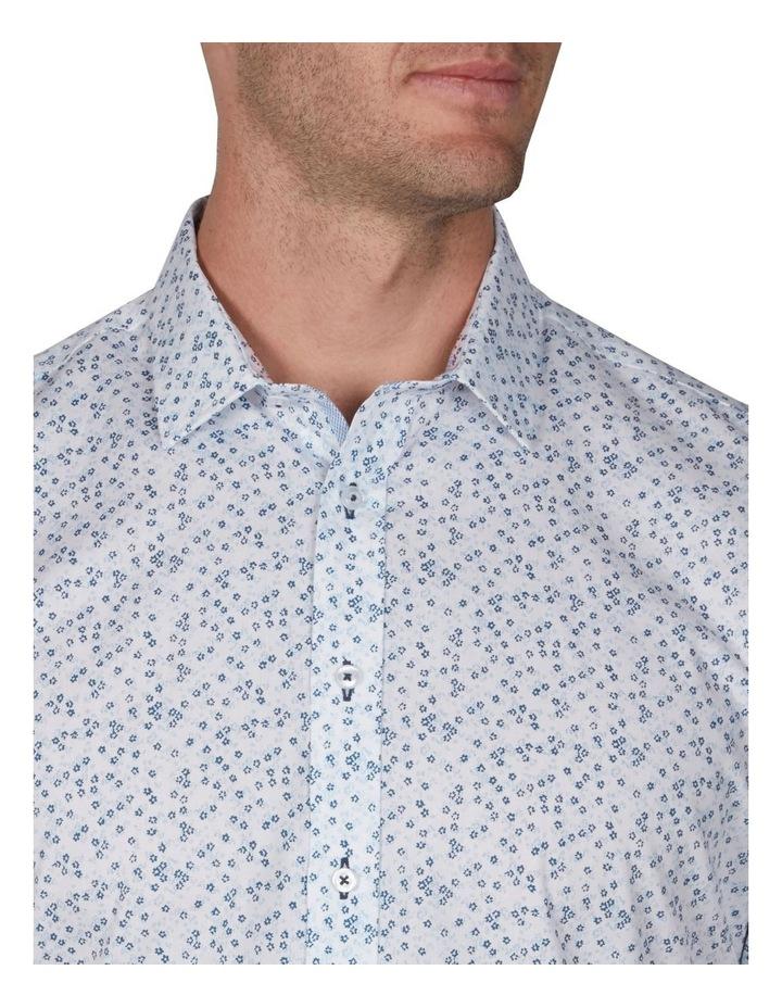Floral Short Sleeve Business Shirt image 3