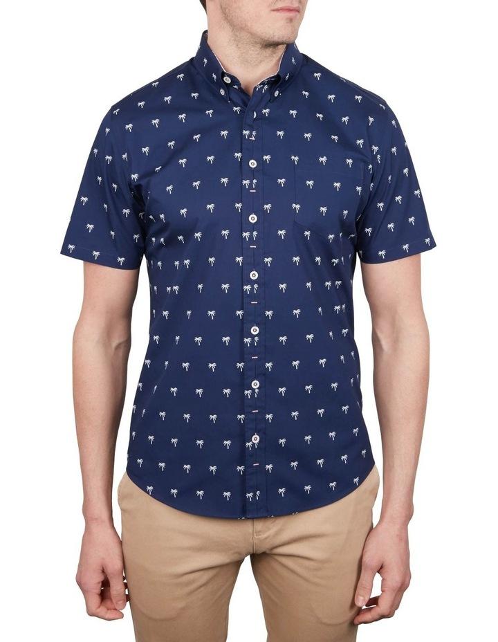 Palm Print Short Sleeve Shirt image 1