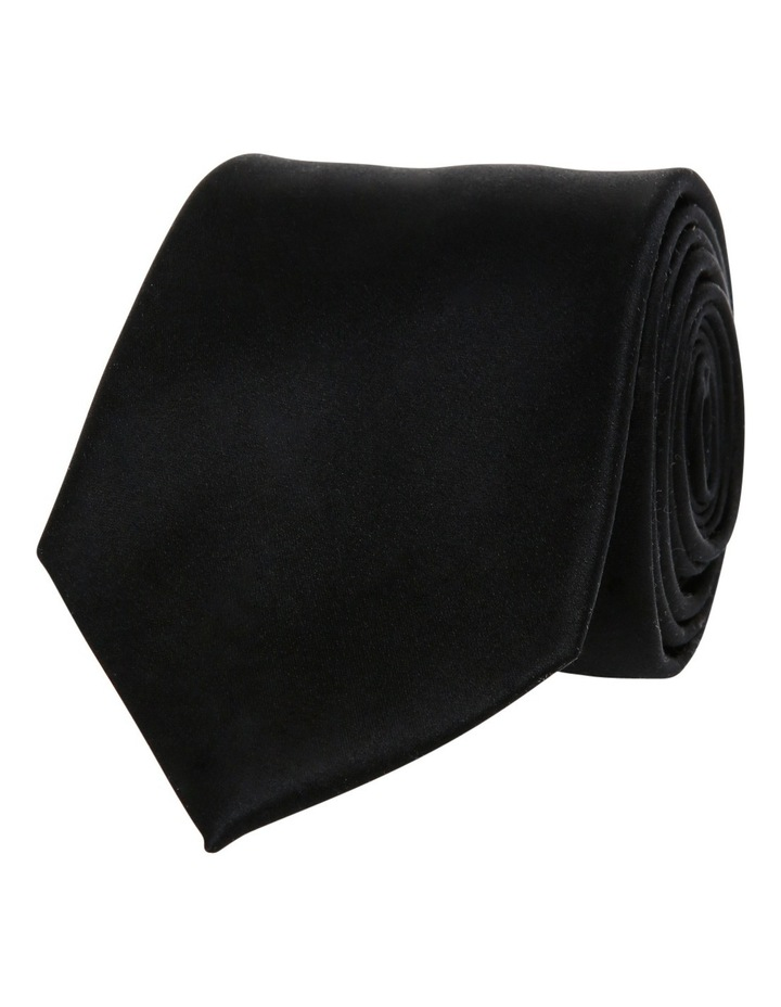 7cm Wide Silk Tie image 1