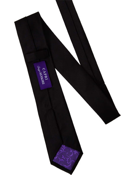 7cm Wide Silk Tie image 4