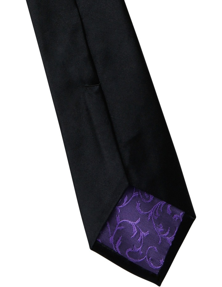 7cm Wide Silk Tie image 5