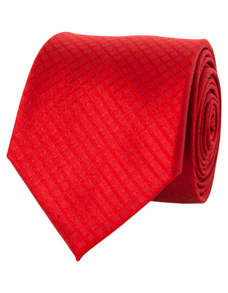 7cm Wide Red Tie image 1