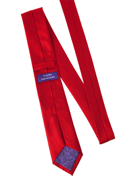 7cm Wide Red Tie image 2