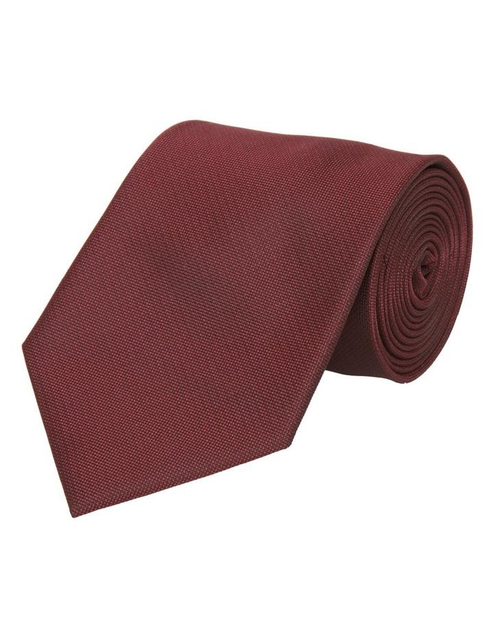 8cm Plain Polyester Tie image 1