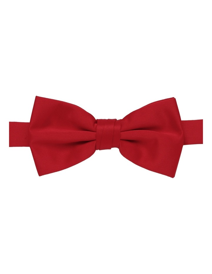 Poly Catswhisker Band Bow Tie / Red image 1