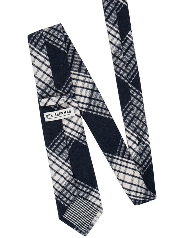 Gingham Check Silk Tie image 2