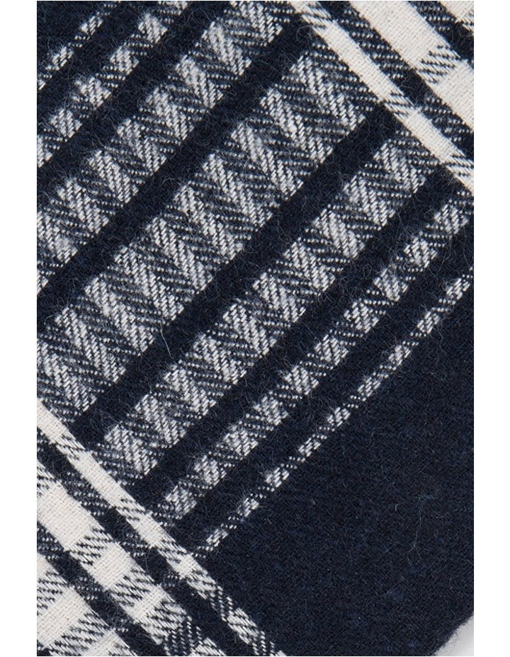 Gingham Check Silk Tie image 3