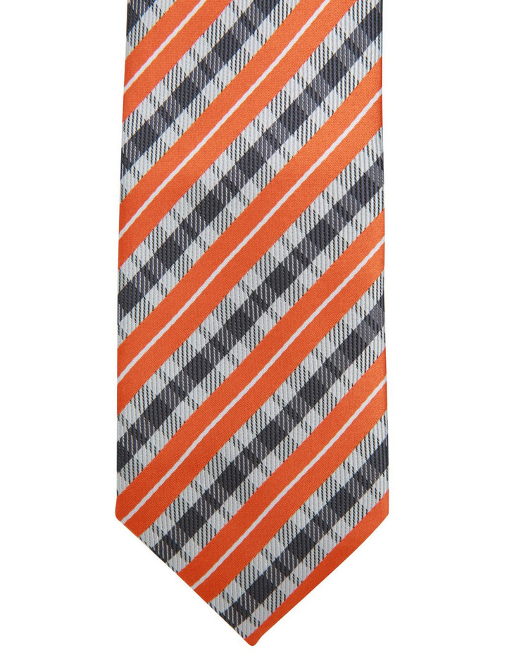 Stripe Polyester Tie image 2